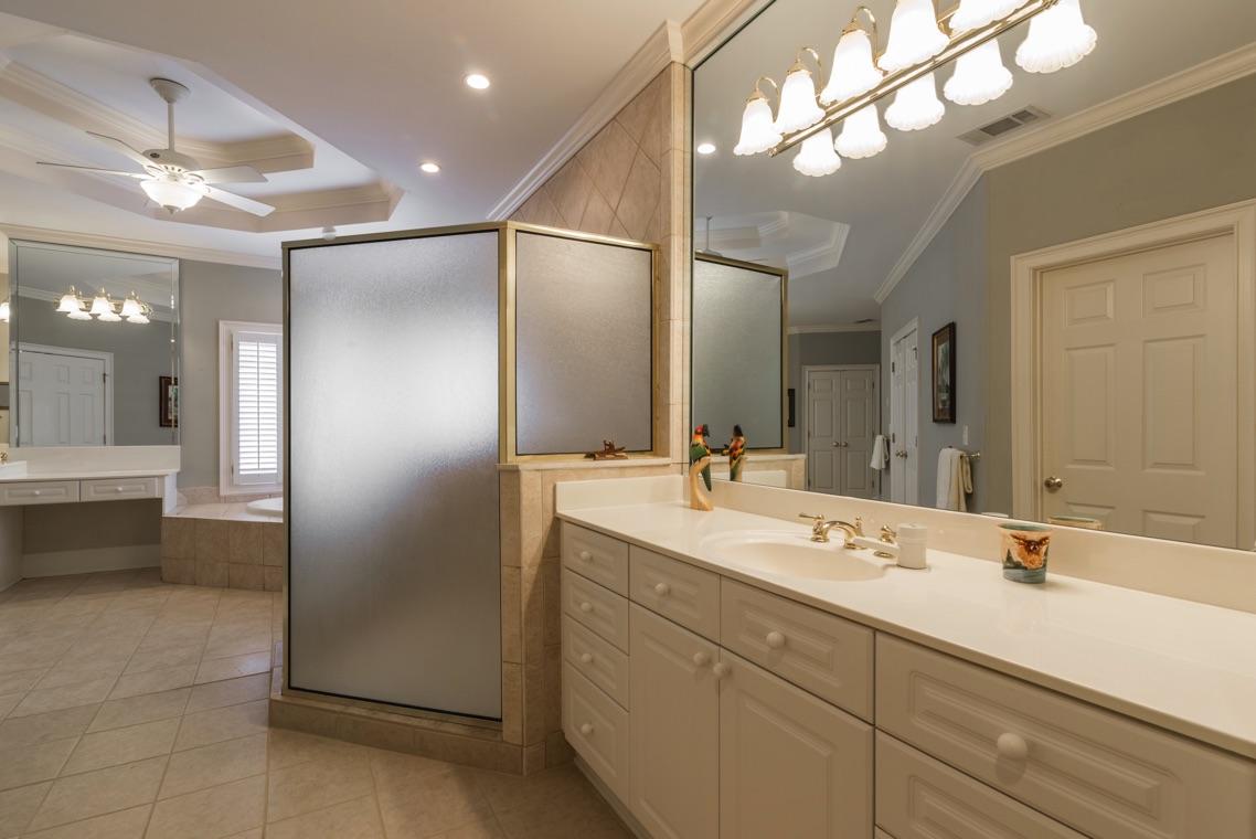 Master Suite Bath 1140 Richmond Glen Milton Ga